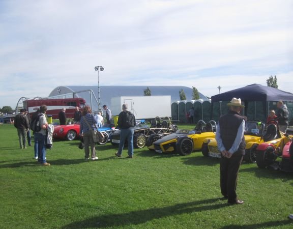 MEV owners meet at Sywell pistons and props show