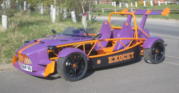New Exocet demo car